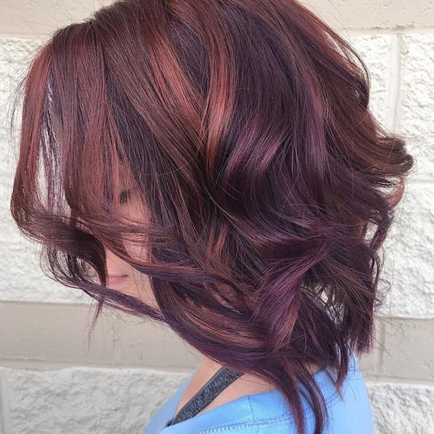 Violet + Copper =BFForever 🔥🔥 #hairgam