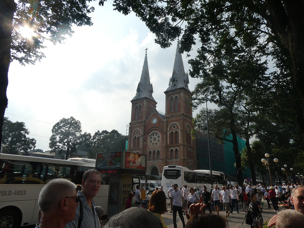 Visiting Ho Chi Minh City Cathedral