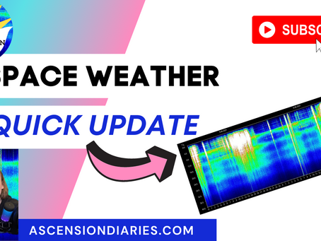 QUICK SPACE WEATHER UPDATE