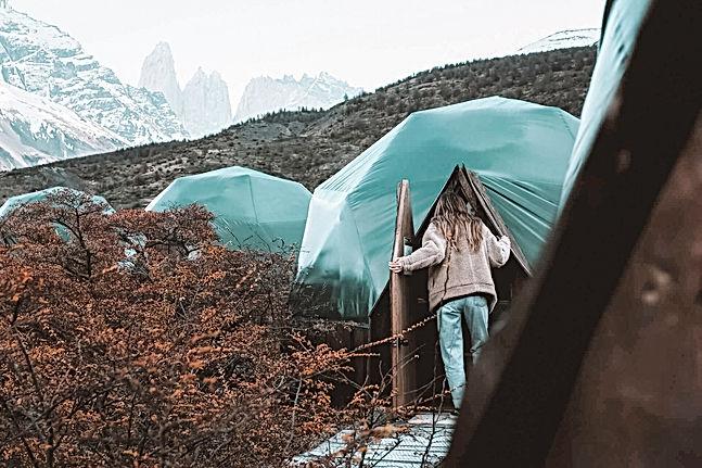 Ecocamp patagonia alma tour