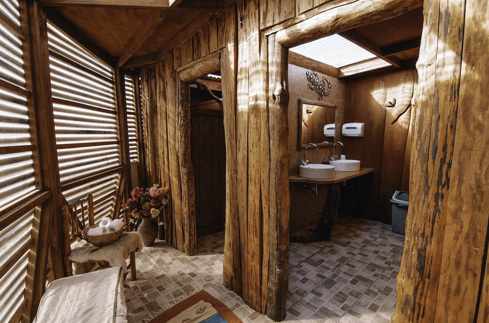 Standard Dome Shared Bathroom