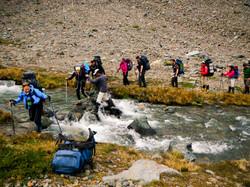 trek trekking hike patagonia