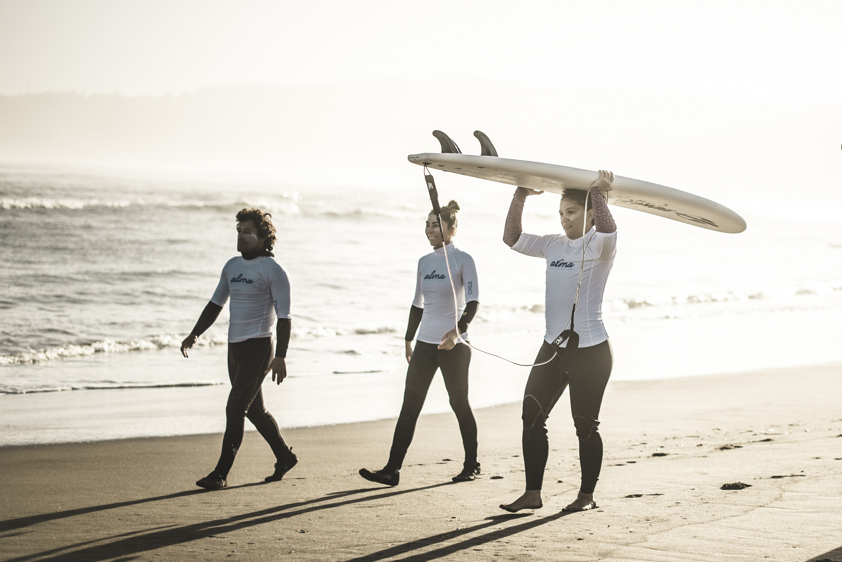 surf yoga retreat chile