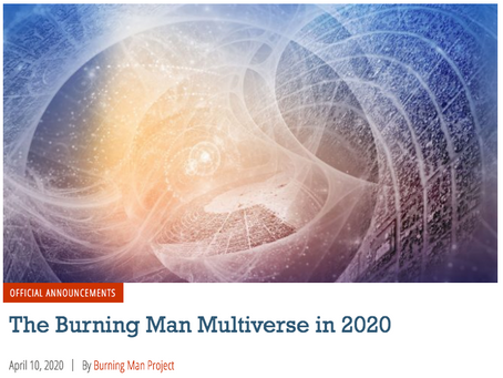 Burning Man 2020/Multiverse