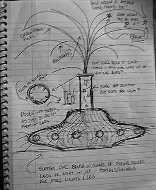 Stardust Sketch