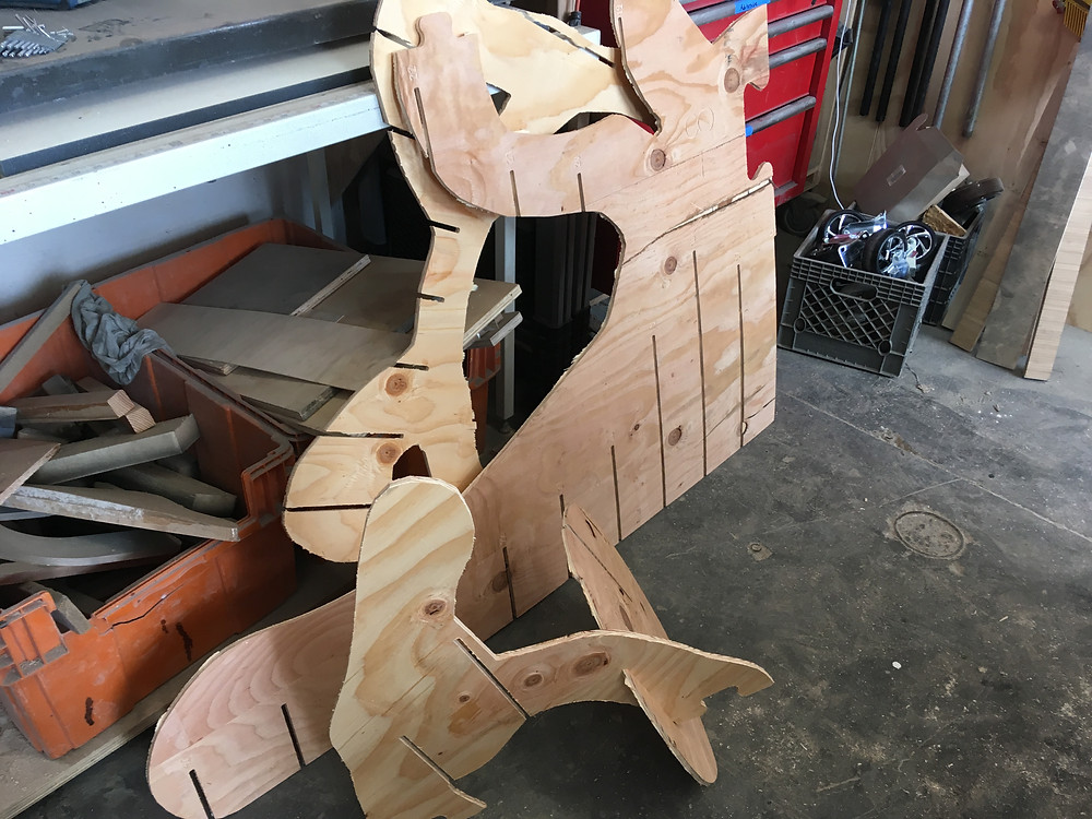 Plywood Cat Parts!