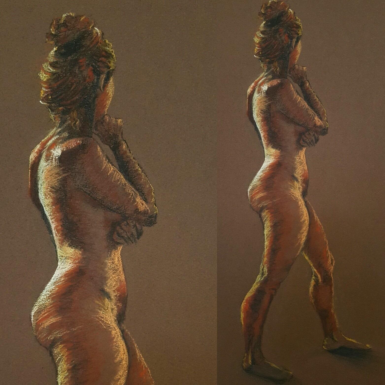 Sculpture 5 week pose