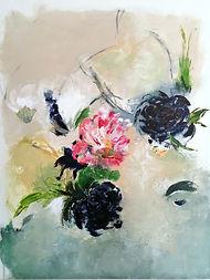 peinture-toile-fleurs-abstrait-calico-brindille
