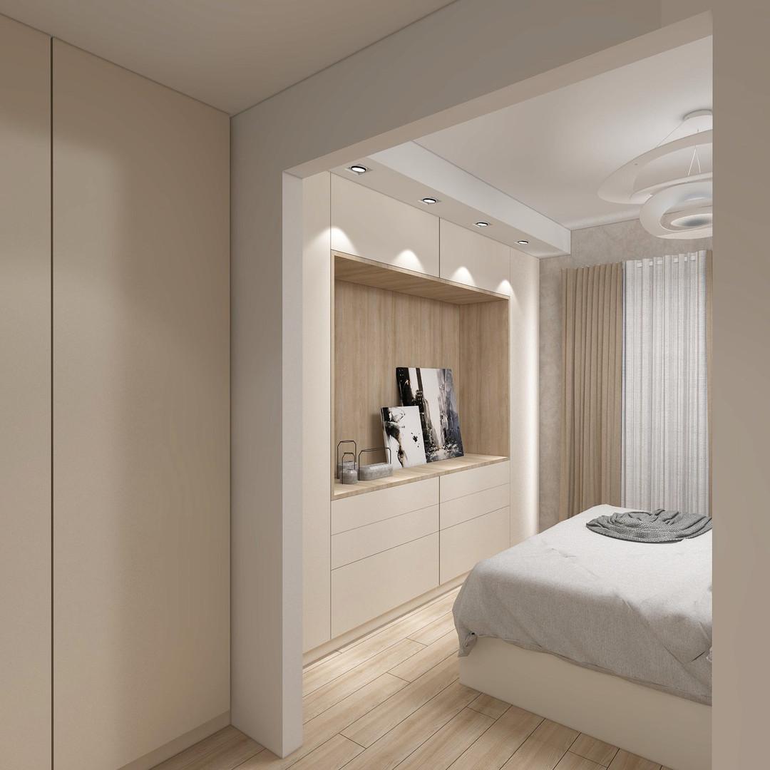 Veronica Petrogalli Design - Progetto camera matrimoniale