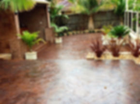 Stamped Slate Concrete_