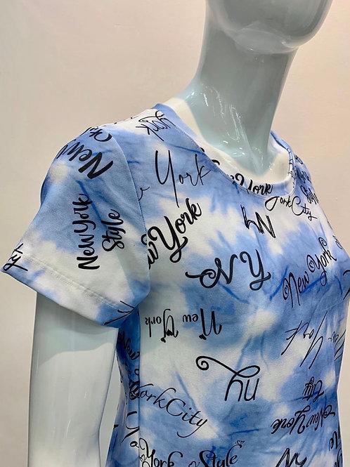 Camiseta suplex Tie Day letras