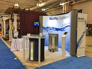 About nuflo systems the floating liner solution for Pool and spa show atlantic city 2016