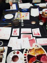 Watercolor Cheat Sheets