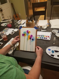 Art Class in the Living Room