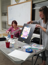 Dripping Watercolor