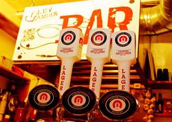 Our pop up bar!