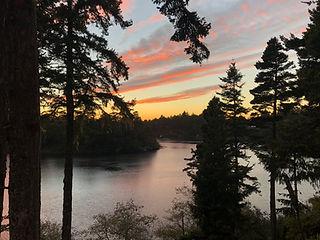 sunset on Floras Lake.jpg