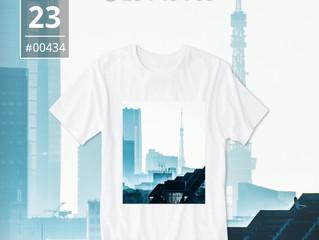 本日24時間限定でTシャツ販売