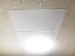 私の部屋の天井に