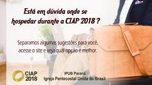 CIAP oferece lista com opções de hotéis