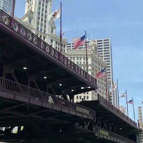 [여행지/일리노이 Chicago/다리] DuSable Bridge