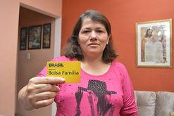 Ivotene Pereira da Silva - Beneficiária Bolsa Família