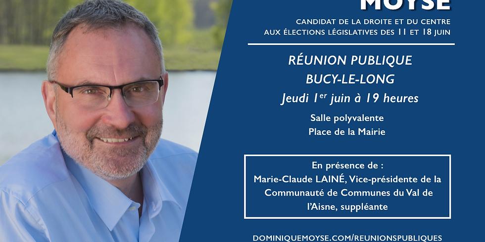 Réunion publique à Bucy-le-Long