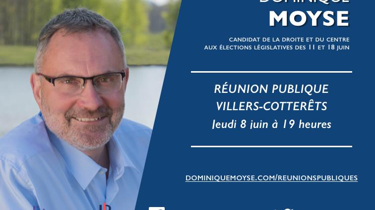 Réunion publique à Villers-Côtterêts