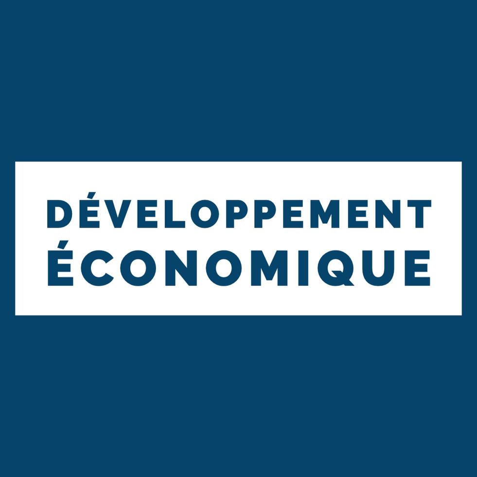 La région appuie le développement économique de nos territoires
