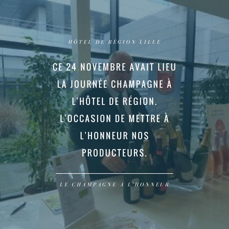 Dominique MOYSE | Journée Champagne à Lille