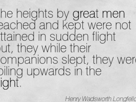Heights of Great Men