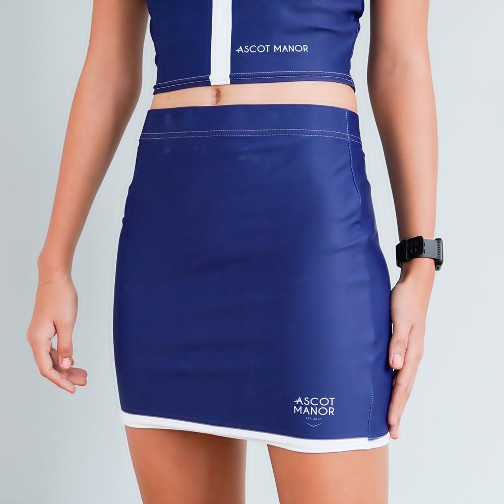 Essentials Straight Tennis Skirt