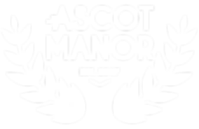Ascot Manor Logo Treatment_Primary_White