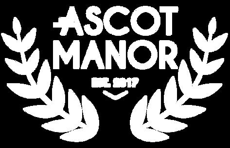 Ascot Manor Logo Treatment_Primary_White