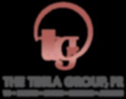 The Tesla Group Logo Treatment_Full Colo