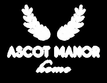 Ascot Manor Home Logo Treatment_White.pn