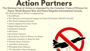 Canadians launch campaign to cancel fighter jet procurement with National Day of Action for #Climate