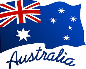 australian-flag-in-wind-with-word-austra