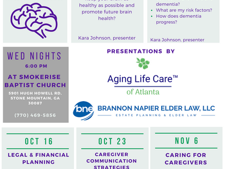 Aging and Brain Health Educational Series