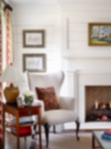 Living Room Remodel With Custom Fireplace