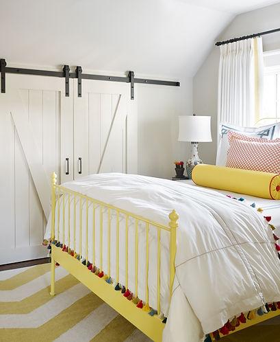 Bedroom Remodel With Custom Barn Door