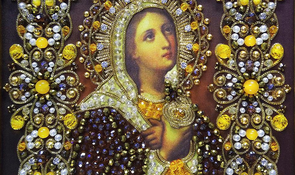 Набор для вышивания хрустальными камнями Святая Мария Магдалина