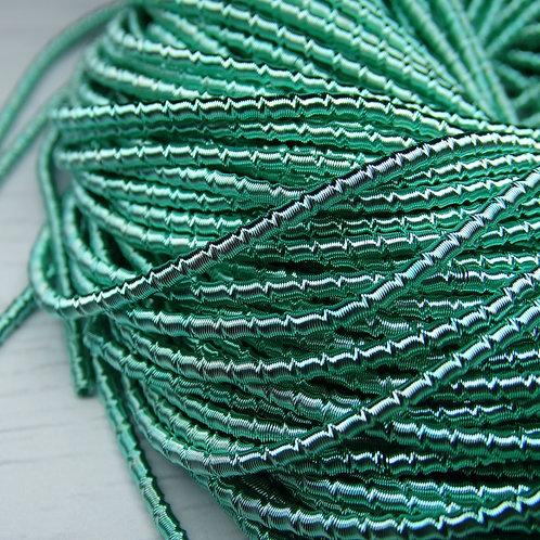 """ТБ015НН2 Трунцал фигурный """"бамбук"""", цвет: голубой, размер: 2 мм, 5 гра"""