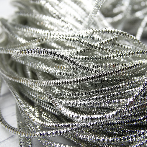 ТК002НН1 Трунцал, цвет: серебро, размер: 1,5 мм, 5 грамм