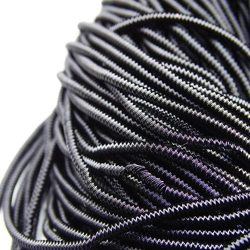 """ТЗ018НН1 Трунцал фигурный """"зигзаг"""", цвет: черный, размер: 1,5 мм, 5 грамм"""