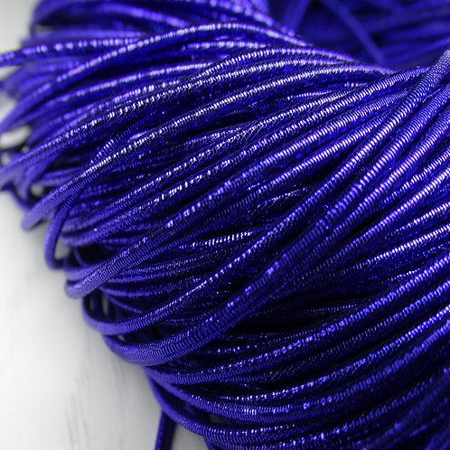 КЯ007НН1 Трунцал металлизированный, цвет: синий, размер: 1 мм, 5 грамм