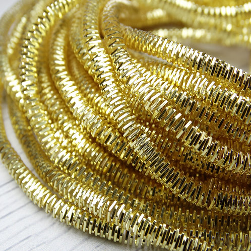ТК001НН3 Трунцал, цвет: золото, размер: 3 мм, 5 грамм.