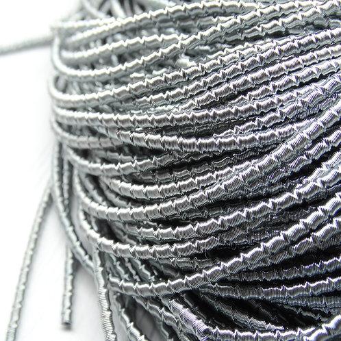 """ТБ017НН2 Трунцал фигурный """"бамбук"""", цвет: серый, размер: 2 мм, 5 гра"""