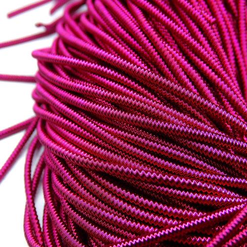 """ТЗ011НН1 Трунцал фигурный """"зигзаг"""", цвет: вишневый, размер: 1,5 мм, 5 грамм"""