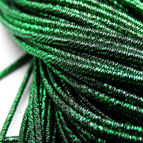 ТМ003НН1 Трунцал металлизированный МИКС, цвет: темно-зеленый, 1,5 мм, 5 грамм.